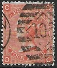 SG94, 4d VERMILLION (PLATE 11), GOOD USED