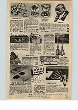 1954 Paper Ad Car Auto Steering Wheel Spinner Knob Glamour Girl Rose Watch