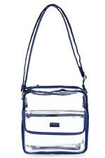 Transparent Stylish Purse Clear Handbag Tote Shoulder Crossbody Bag Fashion NFL