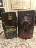 x2 Living Dead Dolls Fashion Victims KITTY INFERNO series 1 2 2003 2004 w/ Pkg!!