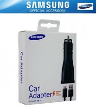 Genuine Samsung Galaxy S8/S8+ Note 8 Fast Car Charger 2000mAh & Type C USB Cable