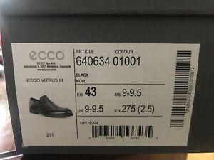 ECCO Men's Vitrus 3.0 Apron Toe Slip on Loafer Size 43