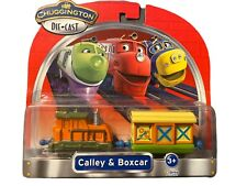 LEARNING CURVE - CHUGGINGTON - CALLEY WITH BOX CAR - DIE CAST NEW Sealed 2011