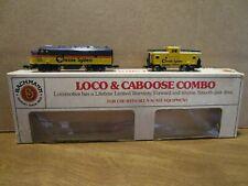 N-Scale, Bachmann, 7071, Chessie, Diesel Loco w/ matching Caboose, Runs Well