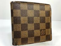 LOUIS VUITTON Marco Bifold Wallet Purse Damier Leather N61675 56314894