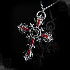 Necklace Collier Arcana XIII Sancta Cross Croix Medieval Celtic Gothic Gothique