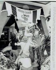 1972 Vintage Photo Gay Liberation demonstrate against Republicans in Miami Beach