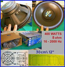 Super Woofer BJ SP2080 30cm 400W 8ohm 16Hz Esplosivo Magnete enorme - SPL - HIFI