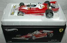 Niki Lauda Signed Hot Wheels 1/18 Monaco 76 Ferrari Model with Proof