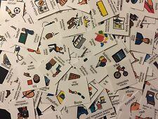 LOT 200+ PECS BILINGUAL BULGARIAN CARDS AUTISM SPEECH THERAPY ASPERGER ADOPTION
