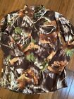 Next FLX Digital Camo Button Up Shirt With Pockets on Chest. Size Med