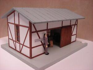Gebäude Lagerschuppen Lagergebäude
