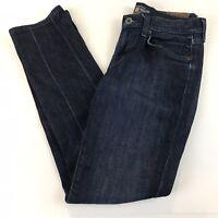 Lucky Brand Womens Jeans 4/27 Sweet N Straight Dark Wash Blue Denim
