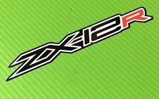 ZX12R logo decal Stickers for Race, Track Bike, Toolbox, Garage or Van PAIR #185