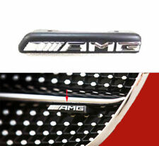 AMG Emblem Badge Front Grille Grill ABS Racing Logo For Benz 3D New