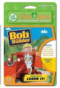 Leapfrog Clickstart Educational Software: Bob The Builder, Project Learn It