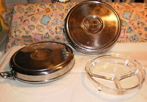 Vintage Pyrex MEAL PACK Divided Military Meal Food Storage Model # 11 MEALPACK