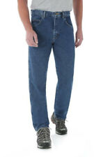 Wrangler Rugged Wear Men's Relaxed Fit Jeans Medium Blue (35X30)