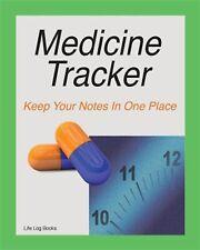 Medicine Tracker by Books, Life Log -Paperback
