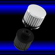 Valve Cover Breather 3 Inch Filter Style for Big Block Chevy 396 427 454 Chrome