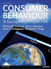 Consumer Behaviour: A European Perspective by Michael R. Solomon, Gary J. Bamos…