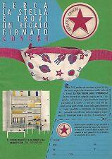 X1582 Camerette Enrico COVERI - Pubblicità del 1991 - Vintage advertising