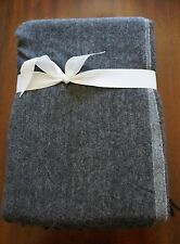 LUXURY HOTEL 100% Cashmere Collection Throw  50 in. x 70 in.   GRAY   NWT
