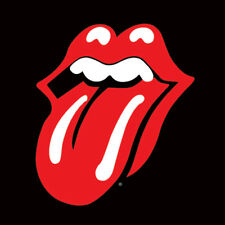 Rolling Stones - Lips - Ready Framed Canvas 40x40cm