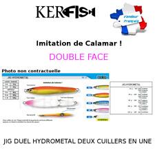 JIG HYDROMETAL DUEL : Imitation calamar 2 leurres en un, double face