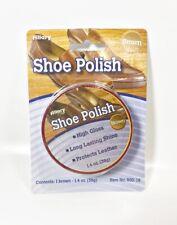 Lot of 6 Allary #900-16 Shoe Polish, Brown, 1.4 Oz(39g)