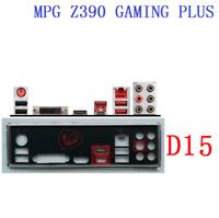 NEW Backplate FOR MSI MPG Z390 GAMING PLUS IO I/O Shield Back Plate