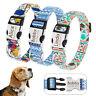 Collar de piel para perro grande suave Personalizable Collar grabado para perro