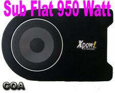 SUBWOOFER AUTO AMPLIFICATO SOTTOSEDILE FLAT ALTO 11,5cm 950 WATT MAX