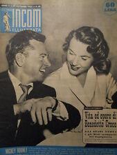 Settimana INCOM n°48 1952 Mickey Rooney - Mimì Cozzi - Kirk Douglas [C48]