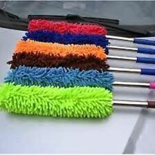Microfiber Duster with Long Aluminium Handle for Car Home Office