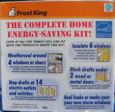FROST KING® Complete Home-Energy Savings Kit; Weather Stripping/Insulation/Seal