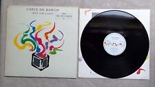 """DISQUE VINYL 33T LP MUSIQUE/ CHRIS DE BURGH """"INTO THE LIGHT"""" 12T ALBUM 1986 ROCK"""