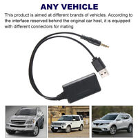 Bluetooth 5.0 Receiver Adapter USB 3.5 mm Jack Stereo Audio For Car AUX Speaker