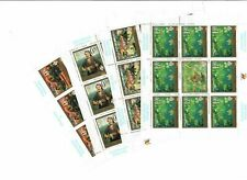 S33071 Bosnia Serbio Admin. 2002 MNH Paintings 4v Mini Sheet