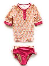 Swim Suit for Girls by Cabana Life Rashguard (2 pc set)