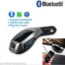 Bluetooth Wireless Car Handsfree Cigarette Socket Speaker/Mic for iPhone/Android