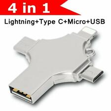 1TB 128GB Metall USB 3.0 Flash Drive Speicherstick Type C OTG Für iPhone Android