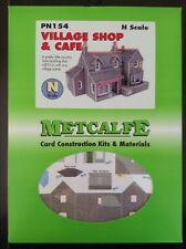 Metcalfe Kit PN154. Village Shop And Cafe. N Scale.