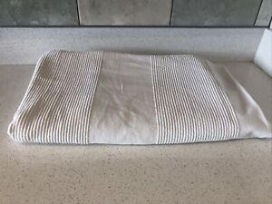 Ikea Cotton Throw, Cream Size 220cm by 194cm Sofa throw, bed throw.
