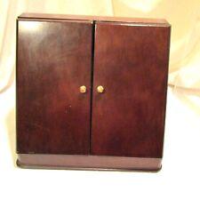 Vintage Wood Stationery Letter Slanted Desktop Organizer