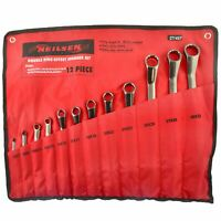 12pc 35° Offset Degree Spanner Set 6 - 32mm Double Ended Metric Ring Spanners