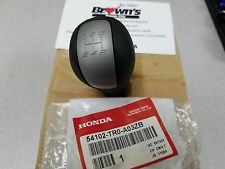 NEW GENUINE HONDA CIVIC SHIFT KNOB 2012-2015 54102-TR0-A03ZB