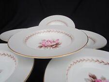 6 Noritake ROSEMONT Rimmed Soup Bowls  Pattern 5048