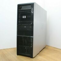 HP Z600 Workstation Windows Tower 2 x Intel Xeon E5620 2.4GHz 16GB RAM 2x 320GB