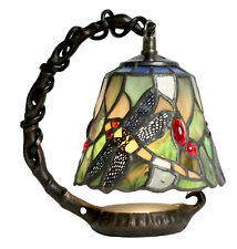 Tiffany Style Table Lamp 19cm Dragonfly Hanging Glass Shade Bulb Buy 2 Save 10